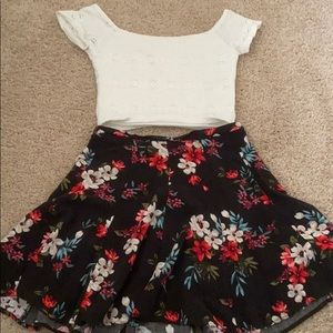 Shirt and skirt combo, or you can buy individual